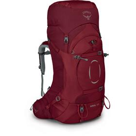 Osprey Ariel 65 Backpack Women, rood